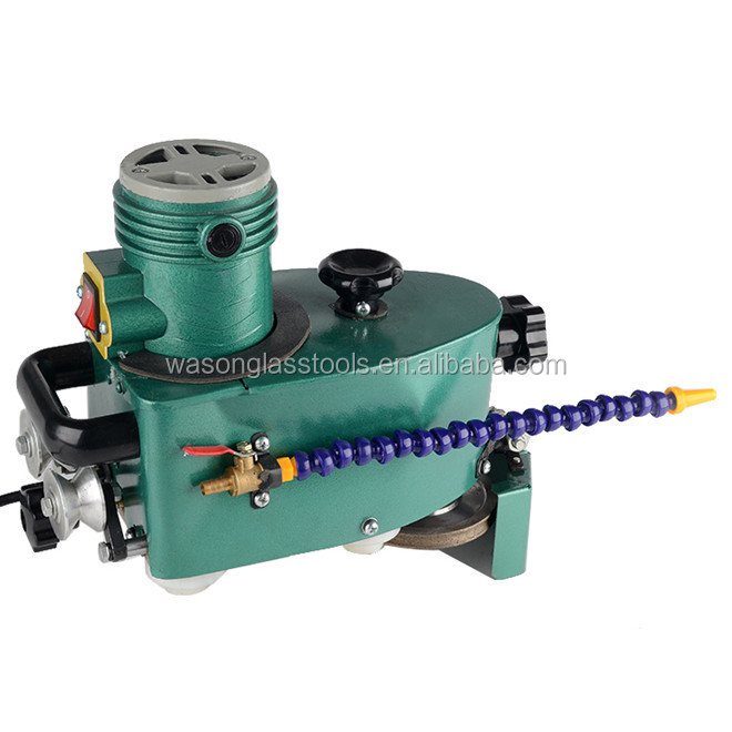 Manual hand portable multifunctional glass edge grinding and polishing machine,portable glass edge grinder