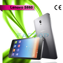smart phone lenovo s860 dual sim card dual standby android 4.2 quad core 5.3 inch capacitive touch screen