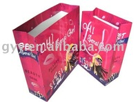 2012 new fashion paper shopping bags