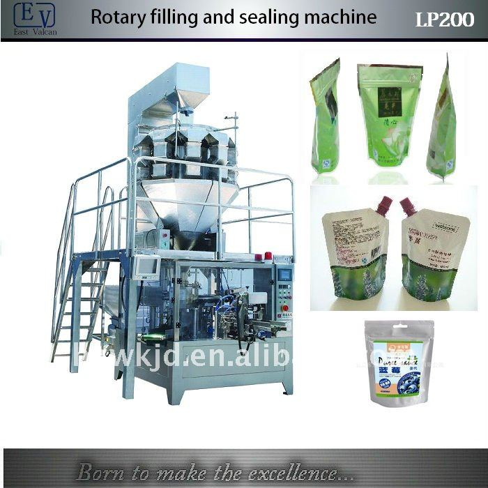 LP200 pre-made bag automatic sugar filling sealing machine