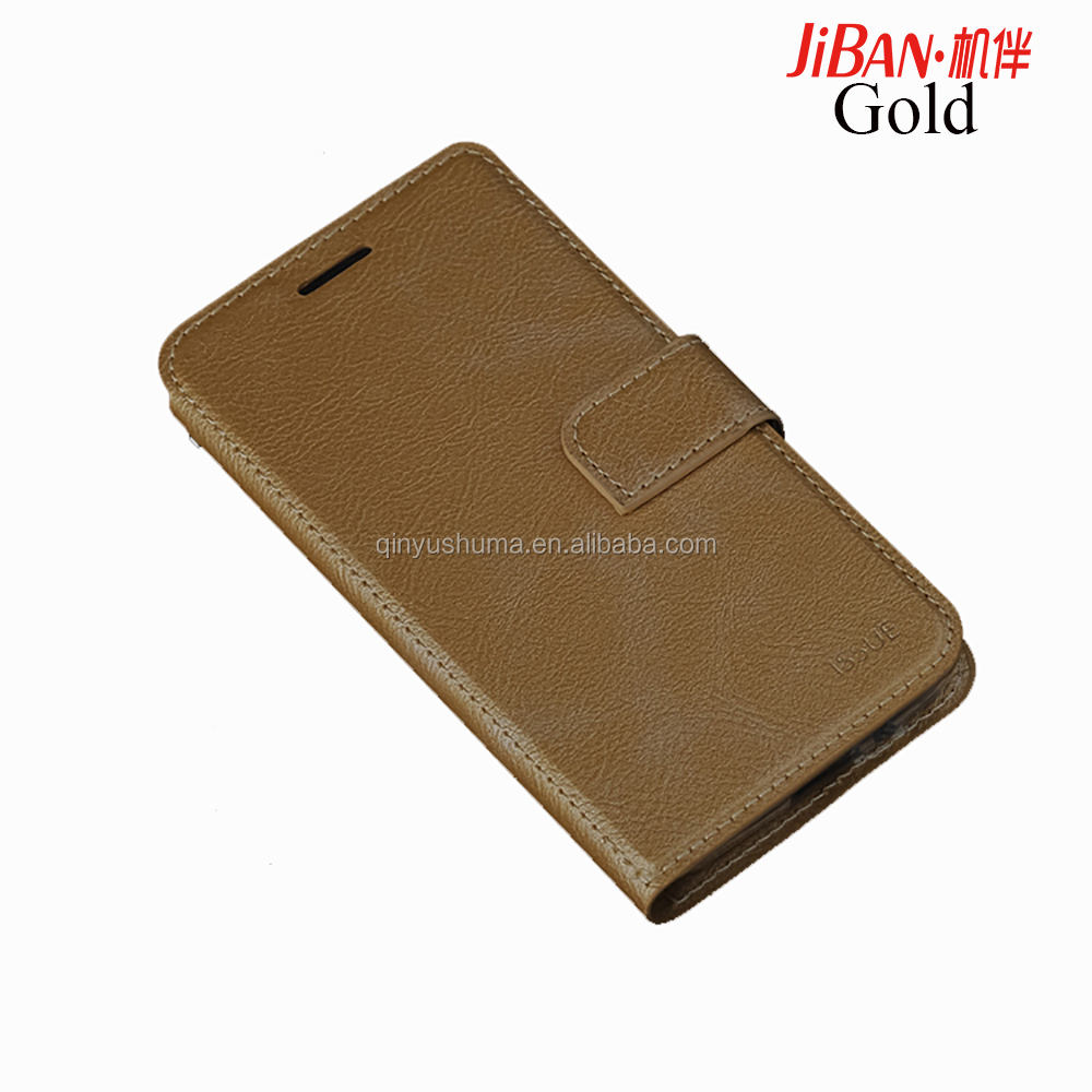 Free sample shockproof Anti-Fingerprints wallet Flip leather with card holder Full Protective Cover phone case for huawei P9