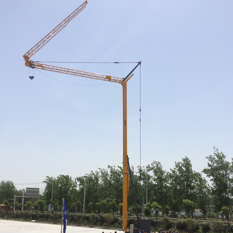 QTK20 Self Erecting Crane Tower Crane
