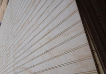 full pine grooved plywood / plywood grooved wall panels / slot plywood