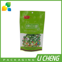 High quality and custom printed plastic bag / ziplock food bag