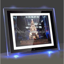 electronic picture frame with CE ROHS Multi-tpye of photo showing mode random playback