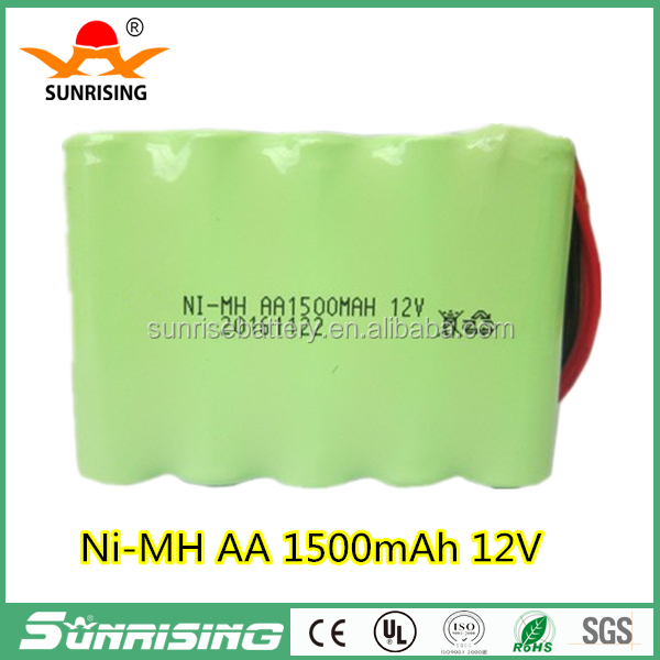 Factory 12V AA 1500mAh Ni-MH Battery Pack Rechargeable for medical instruments