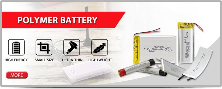 Smallest 150720 Rechargeable Li-polymer Battery 3.7v 5mah Battery