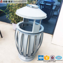 Made in China novel stand metal handmade antique dust bin