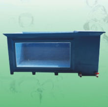 China manufacturer wholesale aquarium koi pond FRP fiberglass fish tank with viewing window and filtration room