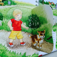 Die cut Children book printing from Beijing printing company