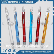 China the most popular promotional metal body ballpoint pens