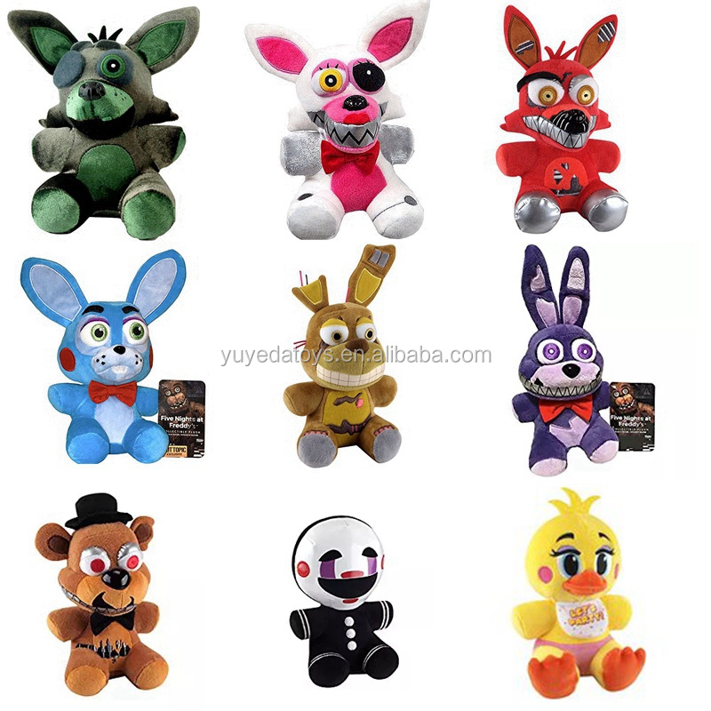 Wholeslae newest FNAF Five Nights at Freddy Plush Toy