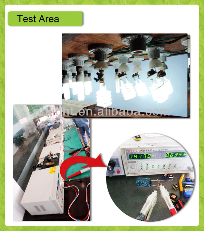 Hotsale 220V B22 20W Half Spiral energy quality products
