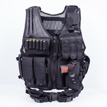 Tactical safety Vest Adjustable Modular Assault SWAT Vest Military combat vest Stock 5 colors