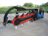 agricultural, construction equipment digger hard rock trencher for sale
