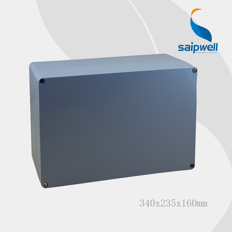 Saipwell IP67 Waterproof Small Aluminum Box For Electronic 340*235*160MM