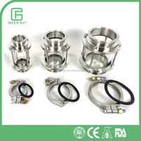 Sanitary Clamped Sight Glass+Clamp+Seal