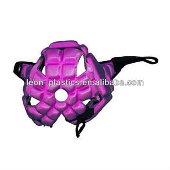 custom purple riding sports helmet