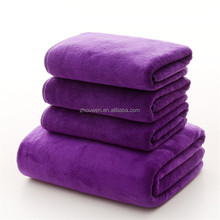 wholesale cheap thin microfibre bath towels with elastic