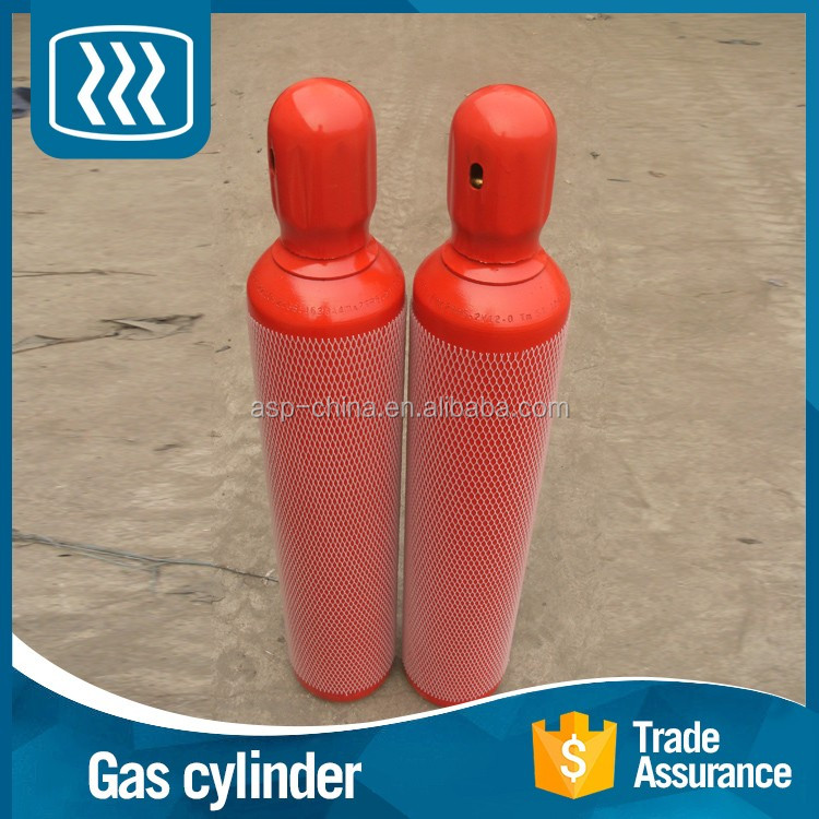 Promotional products seamless steel hydrogen 9kg gas cylinder