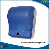 Automatic electric motion sensor toilet auto cut paper towel dispenser