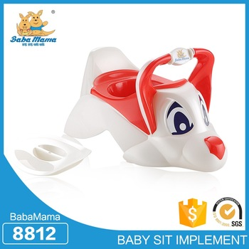Promotional top quality toilet potty seats, plastic waterproof potty training pants with lid
