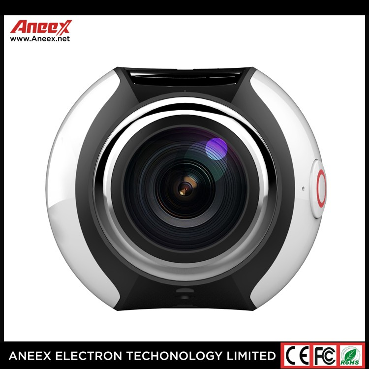 Alibaba china Factory high quality 360 Sports Video Camera WIFI 30 meters underwater 360 Degree Panoramic Camera