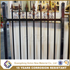 Outdoor cheap fence panels,iron or aluminum fence price for garden