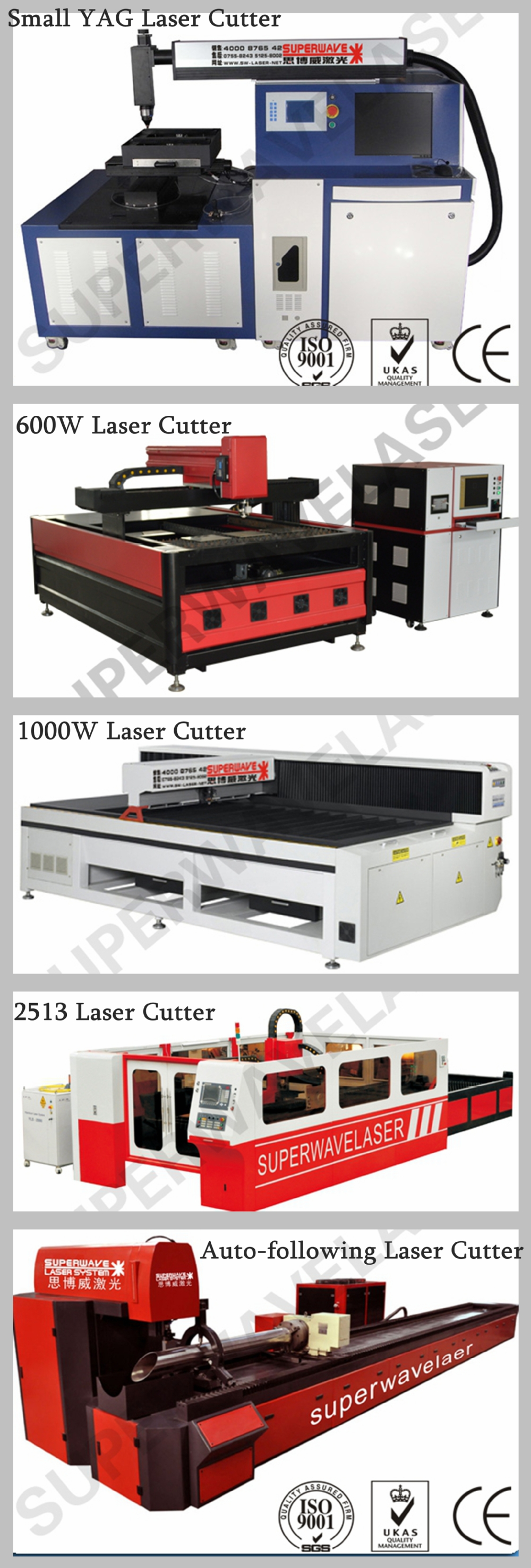 2015 newest YAG metal laser cutting machine 750W with PC control cabinet