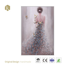 Hot Selling High Quality Abstract Human Figure Oil Painting Wall Art for Home Decor