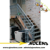 Popular Modern Ornamental Prefab Wrought Iron Stair Railings/Morden Interior Wrought Iron Stairs Banisters Design