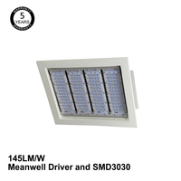 UL/cUL DLC/TUV/SAA Approved 200W Led Garage Canopy light Recessed Canopy