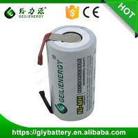 Rechargeable NI MH SC3300mAh 1.2V Battery For Power Tool