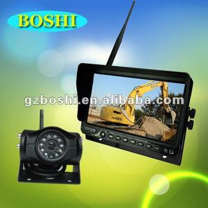 HOT- 7 inch 2.4GHz Digital Wireless Heavy Duty Reversing Camera System with IR Camera