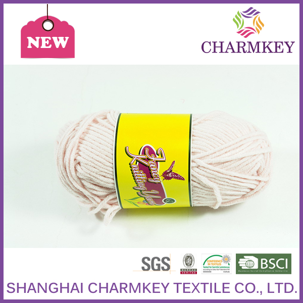 Super soft baby yarn 40% acrylic 60% cotton for hand knitting popular with young mothers