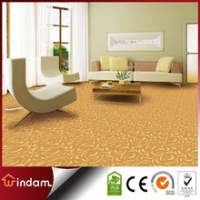 Yellow nylon printed home living room carpet for sale