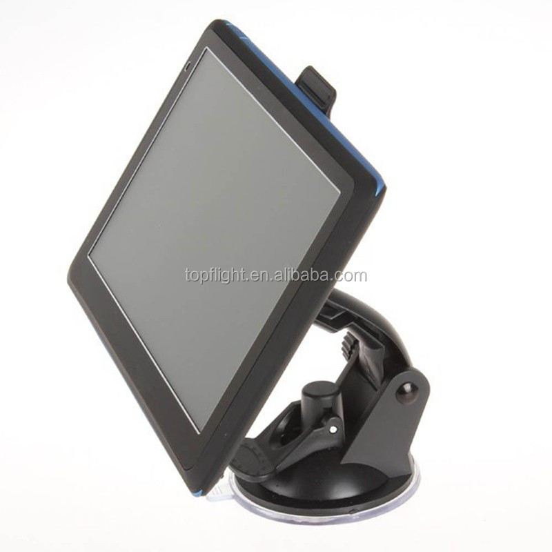 "7"" Touch Screen 256MB/8G Bluetooth AV-IN Free Map Cheap GPS Car Tracker+Parking Rear View Camera"