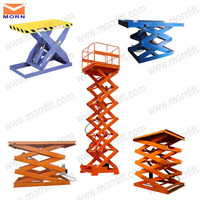 China made warehouse stationary 5 ton hydraulic scissor lift