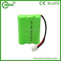 high quality 3.6v 550mah ni-mh batteries pack