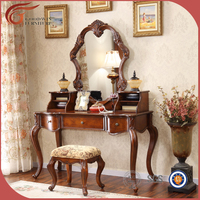 antique color bedroom home furniture Vanity Table