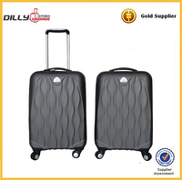 customized design abs and pc trolley bag abs trolley case