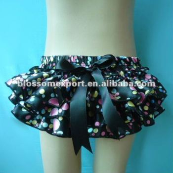 Wholesale hot design baby satin diaper cover