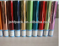 various colors hot stamping foils for PP ABS PET PVC PS