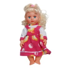 High Quality 12 Inch Silicone Doll For Child