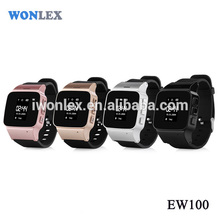 Wonlex EW100 HD LCD Screen GPS Adult Watch Tracker Support Online Chatting