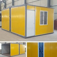 Guyana use Modern mobile Beautiful prefabricated house as kitchen and bathroom