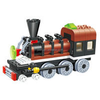Pull Enlighten Brick Toy Train Novelty Products For Import