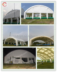 Giant outdoor inflatable tent, big inflatable tennis court