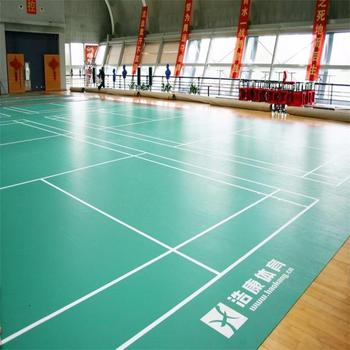 High Quality PVC Sports Flooring Used to Badminton Court Mat