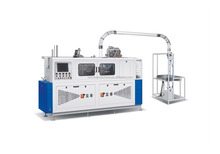 pepsi cola ce approved paper cup making machine for coffee and tea